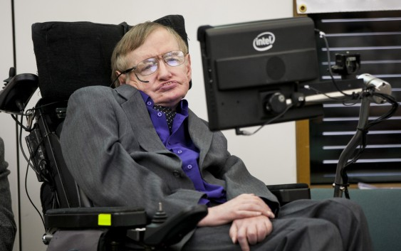 Stephen Hawking endorses Intel's connected wheelchair